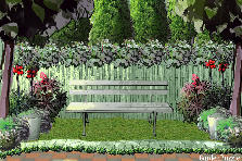 Garden design:just stay there