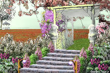 Garden design:stairway to... (heaven?)