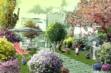 Garden design:Vera&#039;s garden 6
