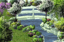 Garden design:Fiume