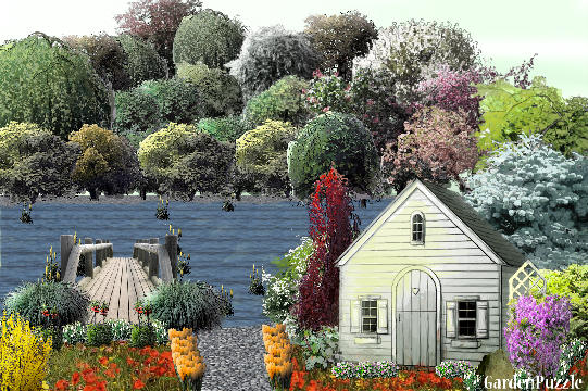 Garden design:Cottage By The Lake - Spring
