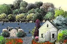 Cottage By The Lake - Summer