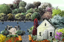 Cottage By The Lake - Spring