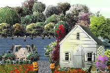 Garden design:Cottage By The Lake
