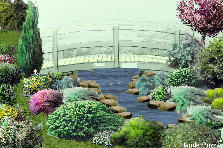Garden design:The bridge