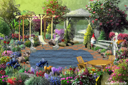 Garden design:my dream garden - Spring