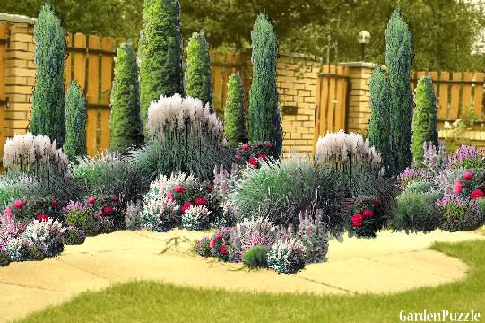 Garden design:27-11-2011 - Summer