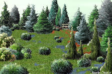 Garden design:Bosque Verde