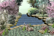 Garden design:Creek.....