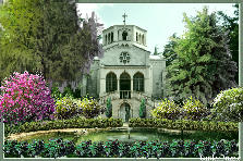 Garden design:The Church where I got married
