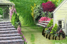 Garden design:private property
