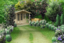Garden design:lost gazebo