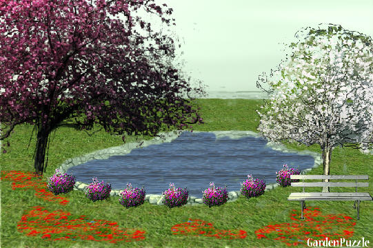 Garden design:wonderful garden - Spring