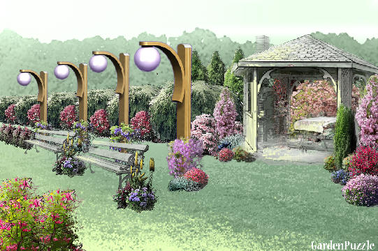 Garden design:park-jee-shu - Spring