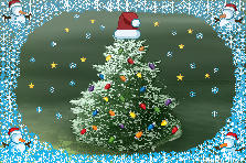 Garden design:Christmas Card
