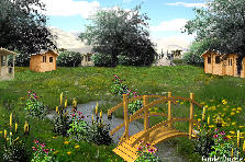 Garden design:Countryside