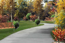 Garden design:Pathway canopy my version