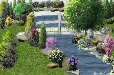 Garden design:Love's little place