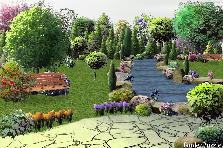 Garden design:the lost oasis...!!