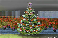 Garden design:The Cristhmas three