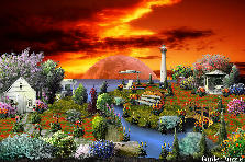Garden design:Sunset of Dreams