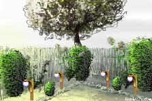 "Garden design:""Bellas Garden"""