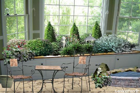Indoor Window Garden Window Seat Turned Indoor Herb