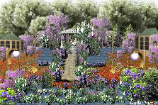 Garden design:WELCOME TO PARADISE