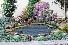 Garden design:creek