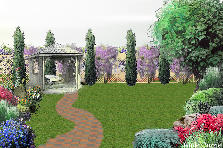 Garden design:Somewhere over the rainbow