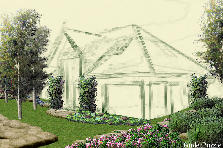 Garden design:Country Estate