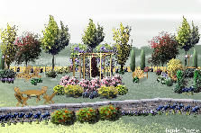 Garden design:From a Distance