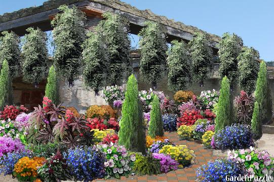 Roman garden gardenpuzzle online garden planning tool for Roman garden designs