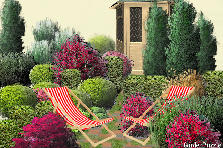 Garden design:passing the time