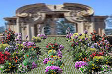 Garden design:PALACE ENTRANCE