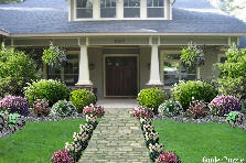 Garden design:Craftsman different style
