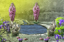 Garden design:Focal Point Claire Highsmith