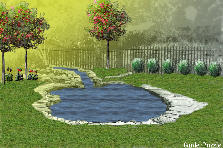 Garden design:Teianna- proportion
