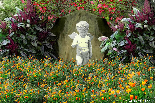 Garden design:Rock Angel - Spring