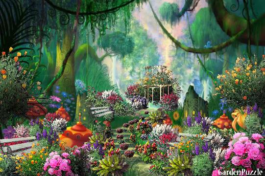 Welcome To Fairyland GardenPuzzle Online Garden