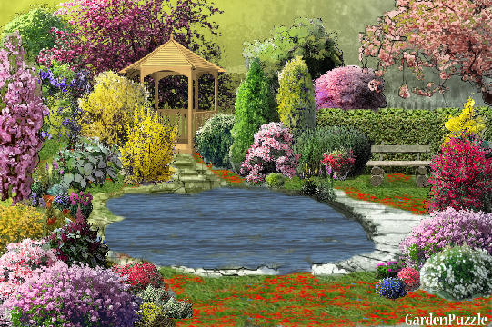Garden design:Lago4 - Spring