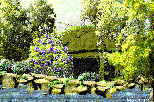 Garden design:On The Lake - Spring