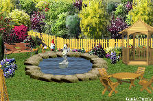 Garden design:sweety