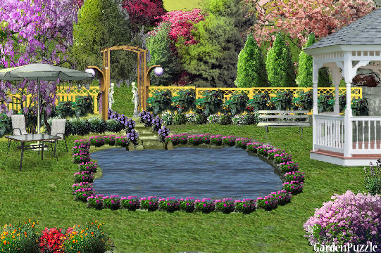 Garden design:My place to relax - Spring