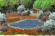 Garden design:Spring in israel