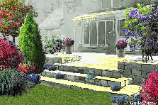Garden design:Old Terrace