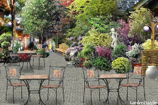 Tea garden gardenpuzzle online garden planning tool for Mg garden designs