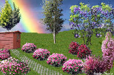 Garden design:Rainbow Paradise (thanks to brewer326)