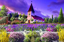 Garden design:Lil Country Church
