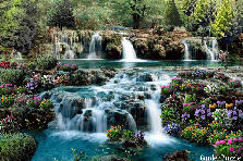Garden design:Waterfalls, cascades, waterfalls!